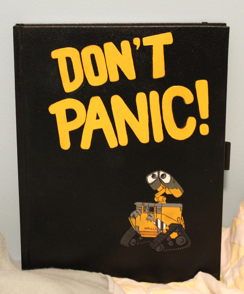 dont panic walle cover by fangsandneedles on deviantart