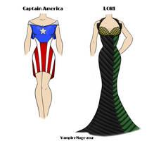 Avengers Fashion #3 by FangsAndNeedles