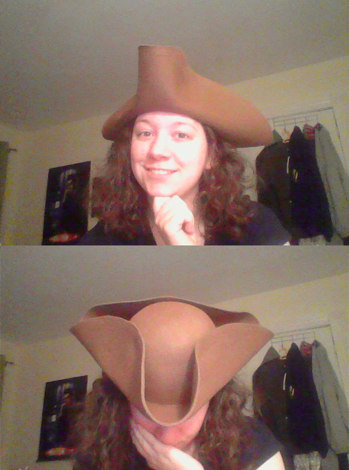 Tricorn by FangsAndNeedles