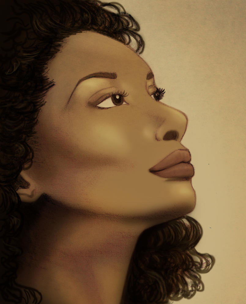 Gina Torres by FangsAndNeedles
