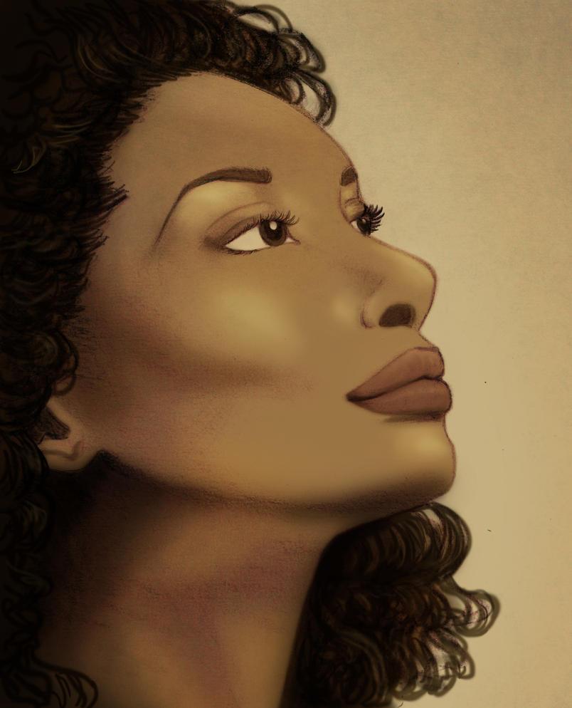 Gina Torres by FangsAndNeedles