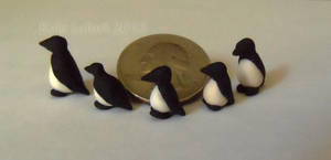 Micro Miniature Penguins by Kyle-Lefort