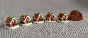 ~*~ The 2013 Mini Gingerbread House Series. ~*~