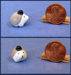 Miniature Hedgehog Wearing A Top Hat No 1
