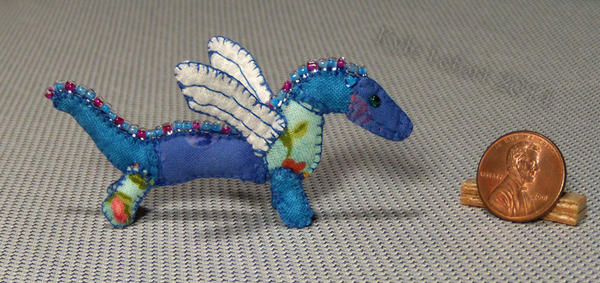 Mini Patchwork Dragon No. 14 by Kyle-Lefort