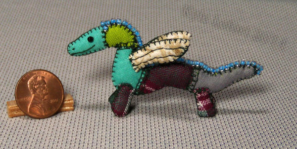 Mini Patchwork Dragon No. 15 by Kyle-Lefort