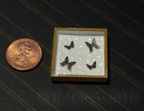 Heliconidae Butterflies & Sunset Moths mini riker  by Kyle-Lefort