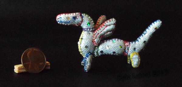 Mini Patchwork Dragon No. 20 by Kyle-Lefort