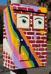 Public Artwork - Elmwood Mural by Kyle-Lefort