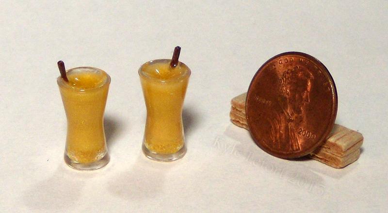 Mini Sparkling Orange Juice by Kyle-Lefort