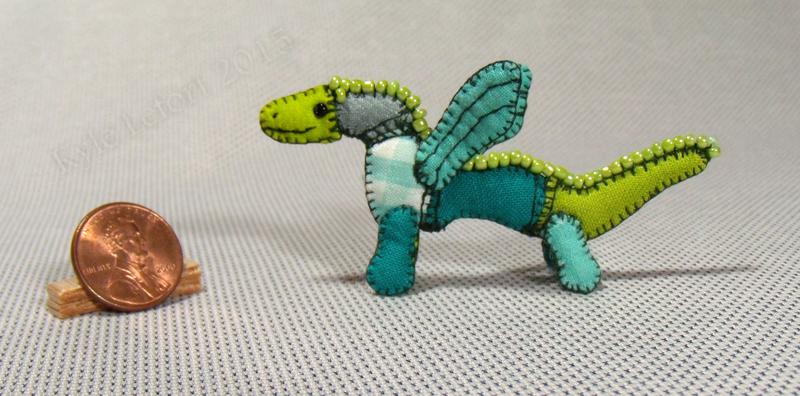 Mini Patchwork Dragon No. 22 by Kyle-Lefort