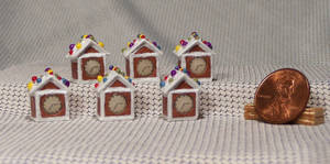 ~*~ The 2015 Mini Gingerbread House Series. ~*~