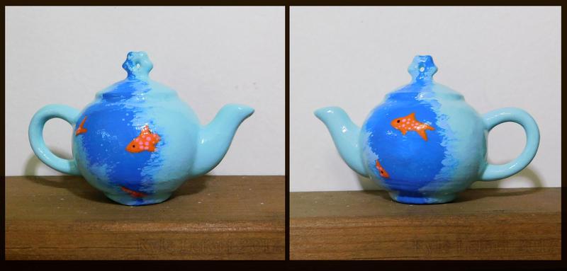 Goldfish Teapot 2017 by Kyle-Lefort