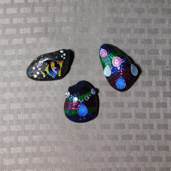 More Sparkly Rocks by Kyle-Lefort