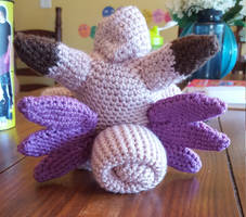 Clefable Crochet 3 by suprphats