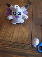 Clefable Crochet 1 by suprphats