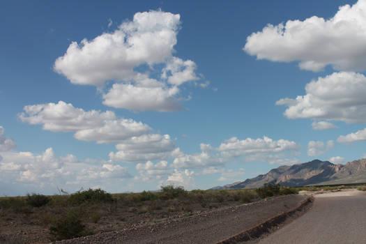 Desert Skies over Desert Road