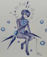 Blue Butterfly by Seclinette