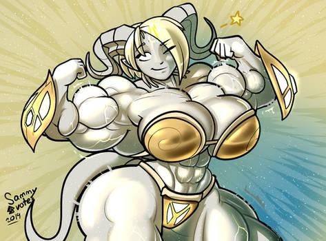 Flirty Shiny Muscular Lightforged