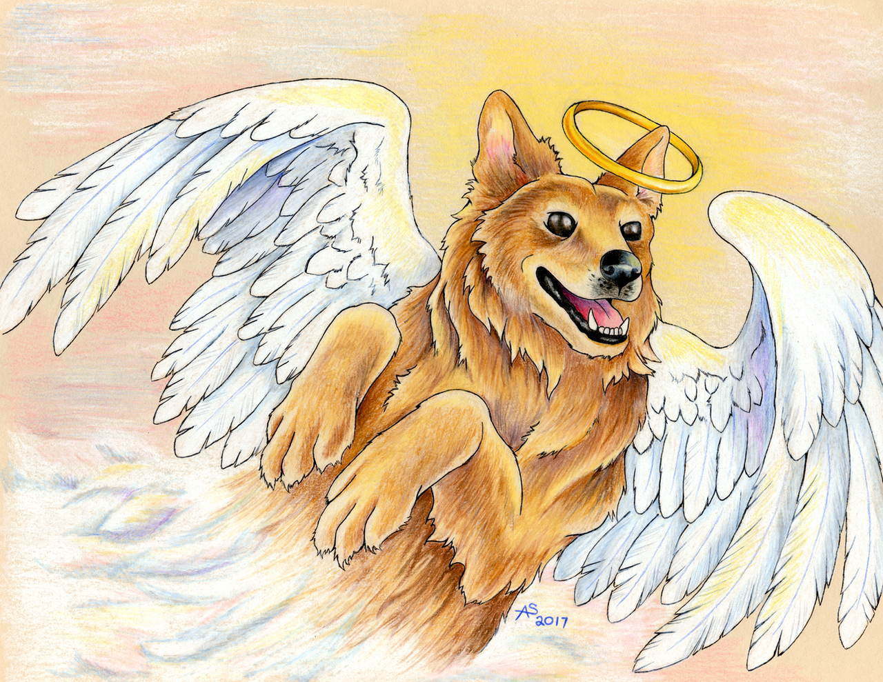 Max the Angel by Fireberd904