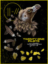 Twenty One Pilots, Bandito Tour Poster