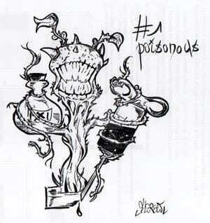 Inktober 01 - Poisonous