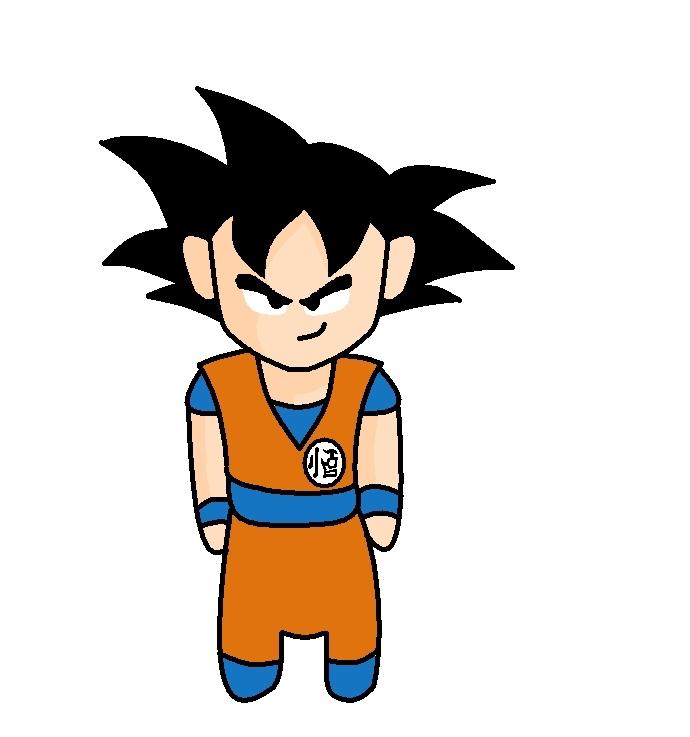 Goku Normal by Afiq1818 on DeviantArt