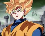 Goku Black Super saiyan (Goku's colour)