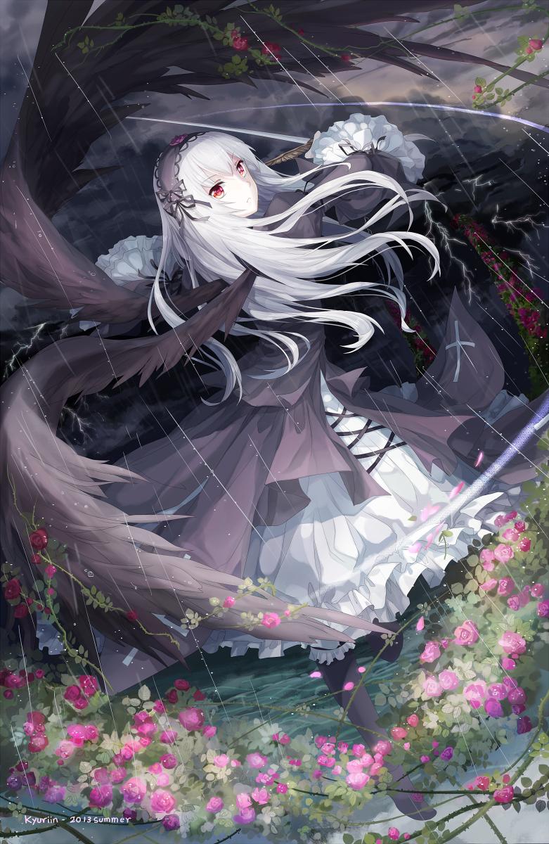 Rozen Maiden: Suigintou by Kyuriin