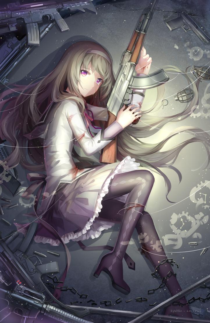 Homura by Kyuriin
