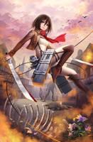Mikasa by Kyuriin