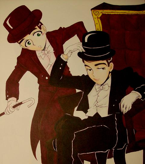 Martin and Lewis by dwightyoakamfan