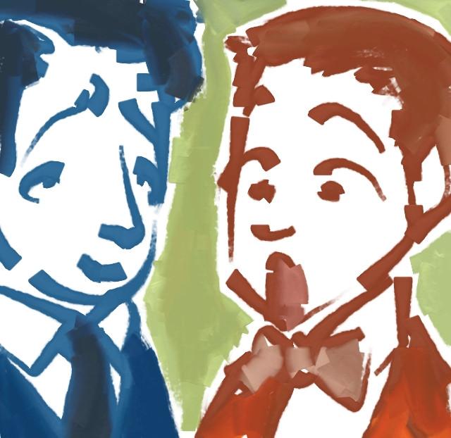 Dean and Jerry Pop by dwightyoakamfan