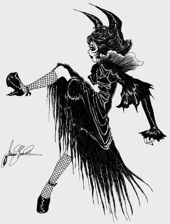 Black Dress by dwightyoakamfan