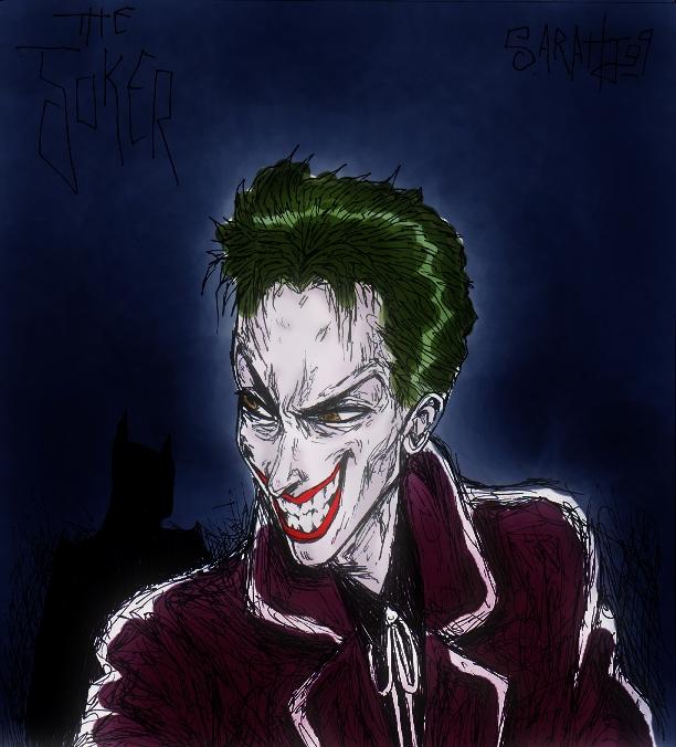 The Joker by dwightyoakamfan