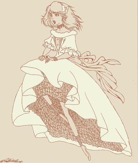princesse dans la robe blanche by dwightyoakamfan