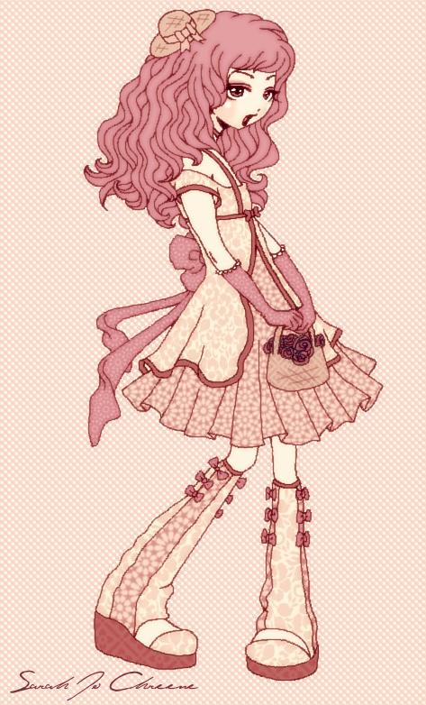 Lolita Dress Design II by dwightyoakamfan