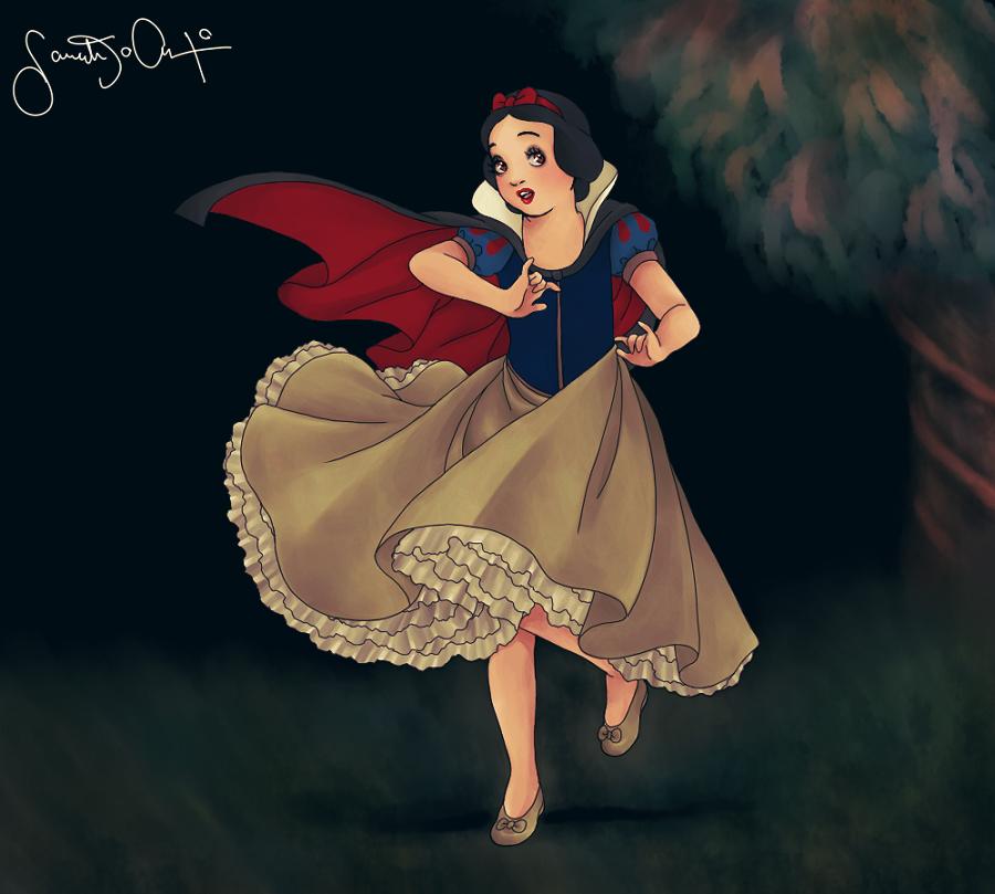 Snow White by dwightyoakamfan