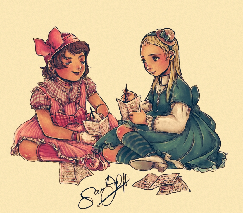 Lolita .Pen Pals. by dwightyoakamfan