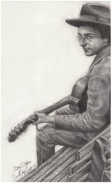 Mister Bob in Pencil by dwightyoakamfan
