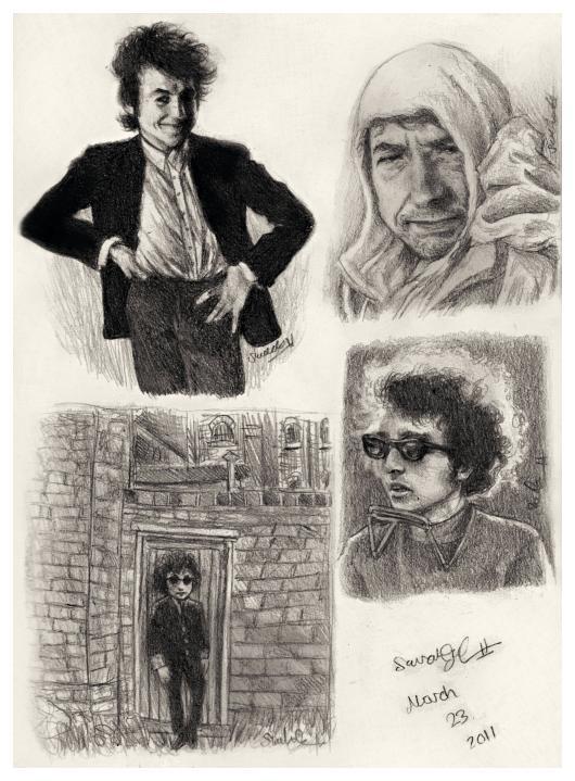 Sketchbook Page I by dwightyoakamfan