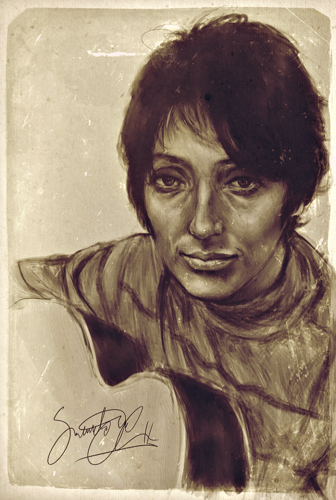 Joan Baez by dwightyoakamfan