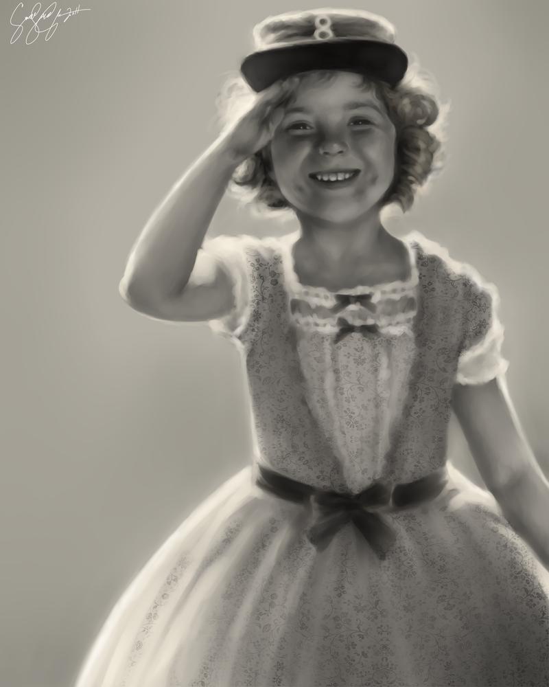 Miss Shirley Temple by dwightyoakamfan