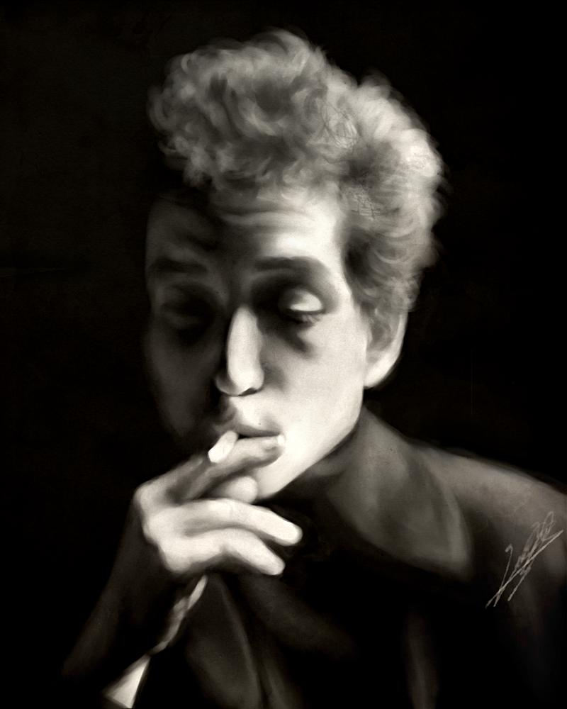 Bob Dylan 1960s Speedpaint by dwightyoakamfan