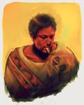 TWD - Daryl Dixon ~Poncho by dwightyoakamfan