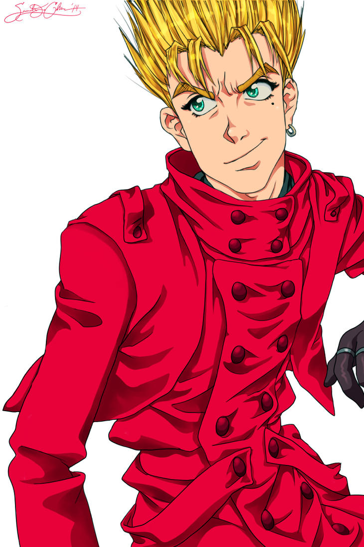 Vash The Stampede by dwightyoakamfan