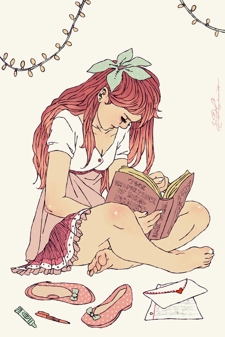 Reading Oscar by dwightyoakamfan