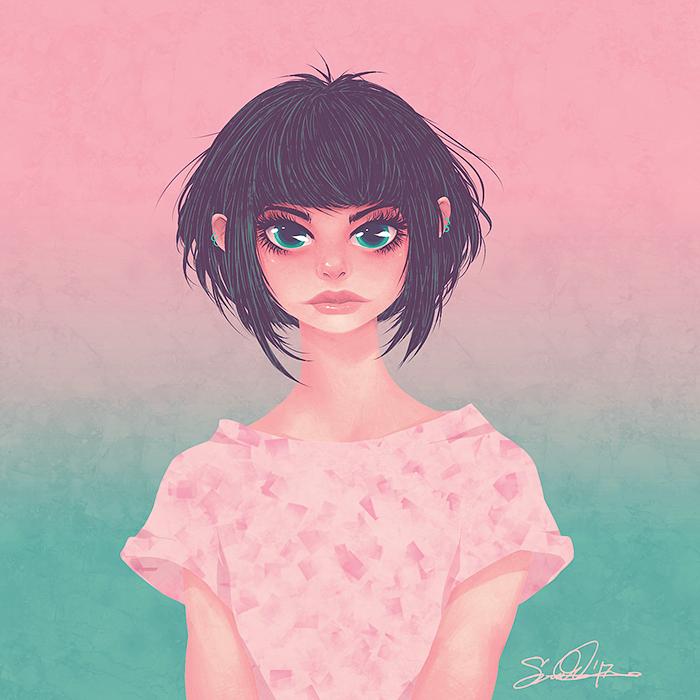 Pink Ocean by dwightyoakamfan