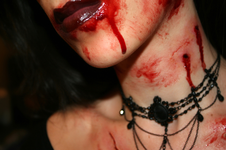 Vampire Bite Rossmakeup Deviantart