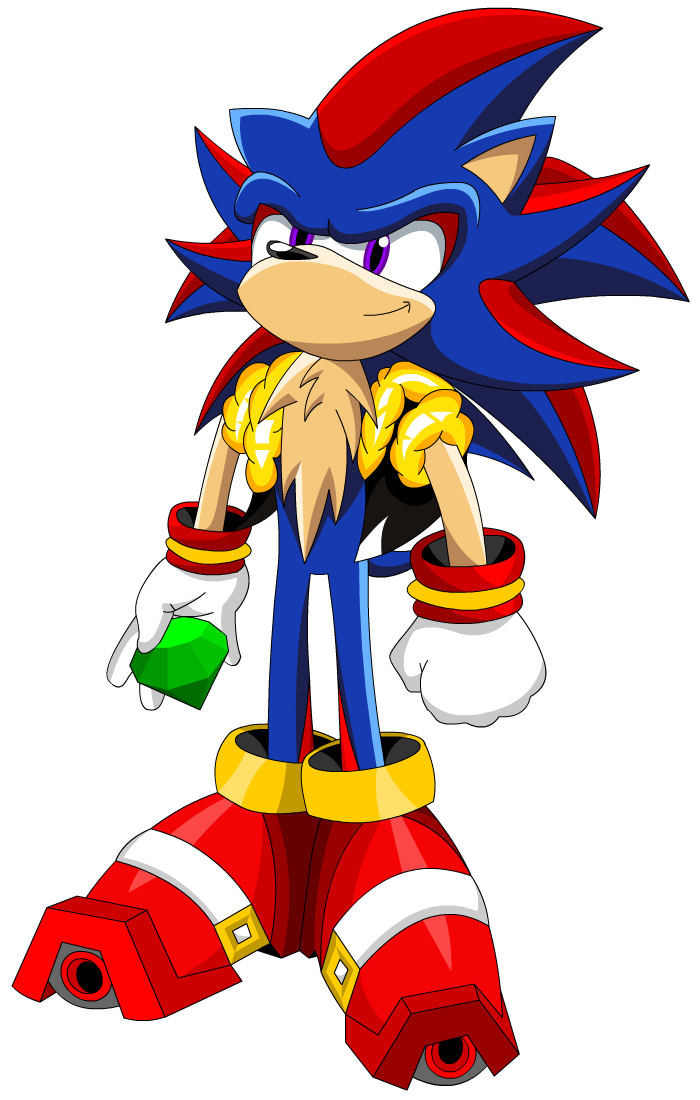 Shadic the Hedgehog by KingHedgehog on DeviantArt